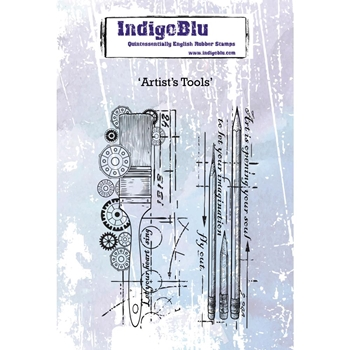 IndigoBlu Cling Stamp ARTISTS TOOLS ind0442*