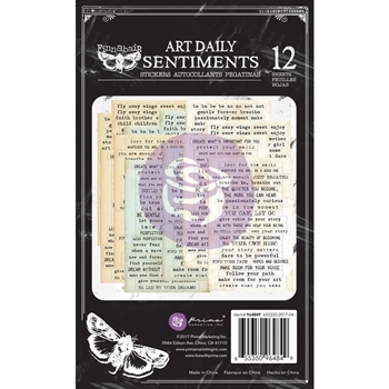 Prima Marketing SENTIMENTS Art Daily Planner Sticker Pad 964849