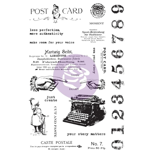 Prima Marketing CARTE POSTALE Art Daily Planner Clear Stamps 964900 Preview Image