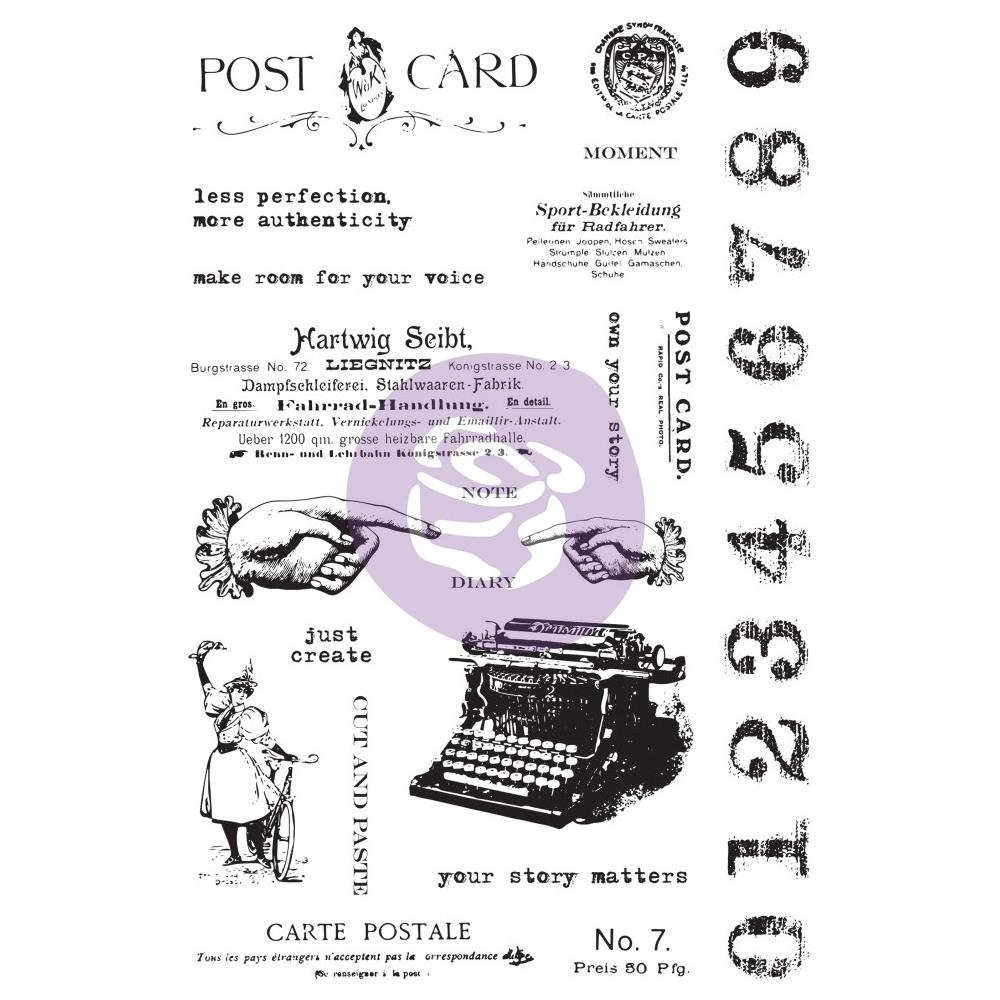 Prima Marketing CARTE POSTALE Art Daily Planner Clear Stamps 964900 zoom image
