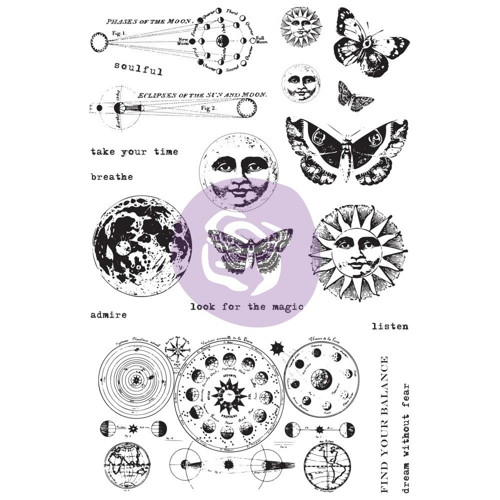 Prima Marketing DREAM WITHOUT FEAR Art Daily Planner Clear Stamps 964931 zoom image