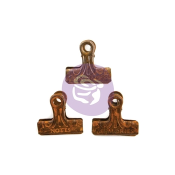 Prima Marketing RUSTY METAL CLIPS Art Daily Planner 964825