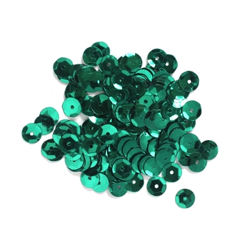Darice 8MM TURQUOISE CUP SEQUINS 200 Piece 10044-59