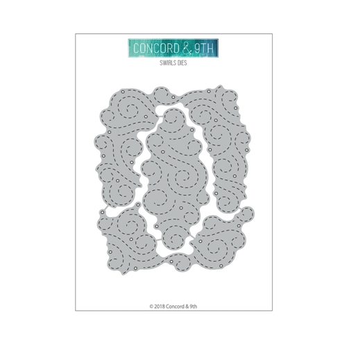 Concord & 9th SWIRLS Die Set 10496 Preview Image