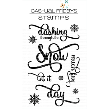 CAS-ual Fridays DASHING Clear Stamps CFS1819