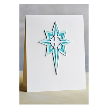 Birch Press Design NATIVITY STAR LAYER SET Craft Dies 56090
