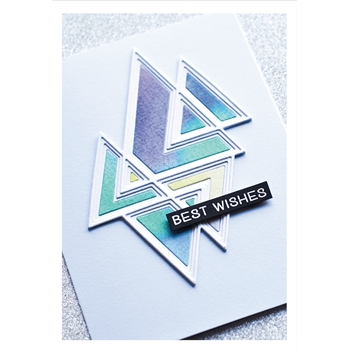Birch Press Design PRISMATIC TRIANGLE LAYER SET Craft Dies 56091