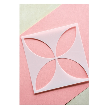 Birch Press Design PETAL BURST Stencil 44023