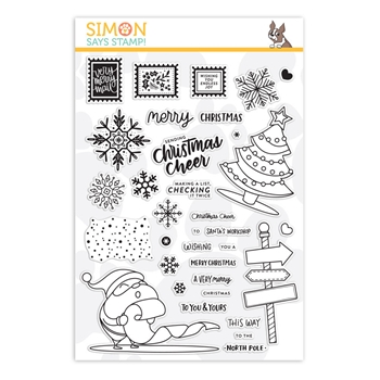 Simon Says Clear Stamps CHRISTMAS CHEER sss101895