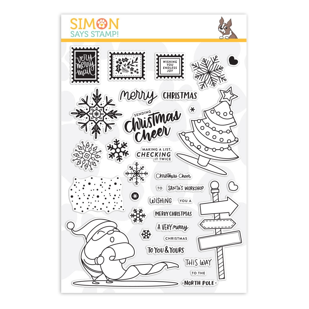 Simon Says Clear Stamps CHRISTMAS CHEER sss101895 zoom image