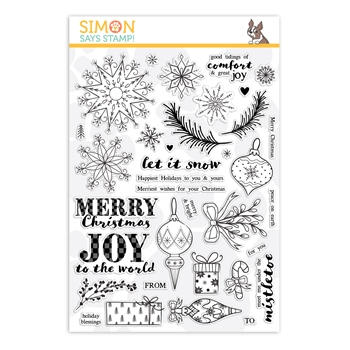 Simon Says Clear Stamps COMFORT AND JOY sss101956