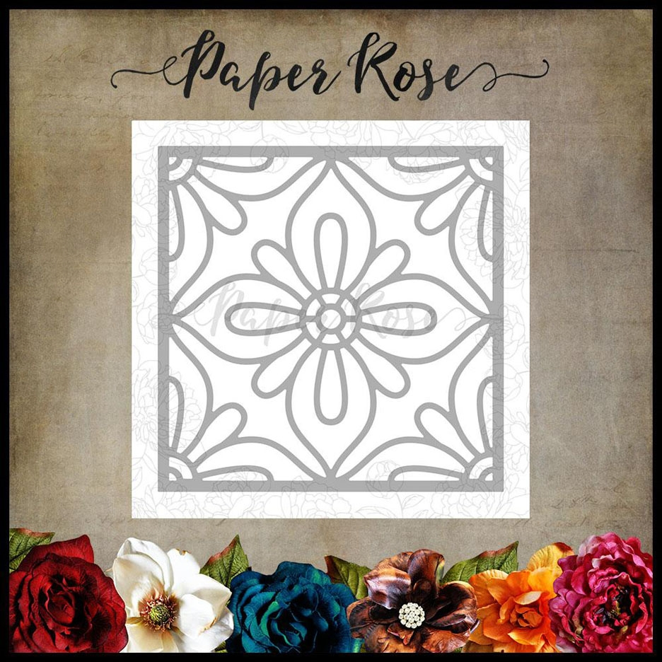 Paper Rose MOROCCAN SQUARE LAYER 1 Craft Die 17808 zoom image