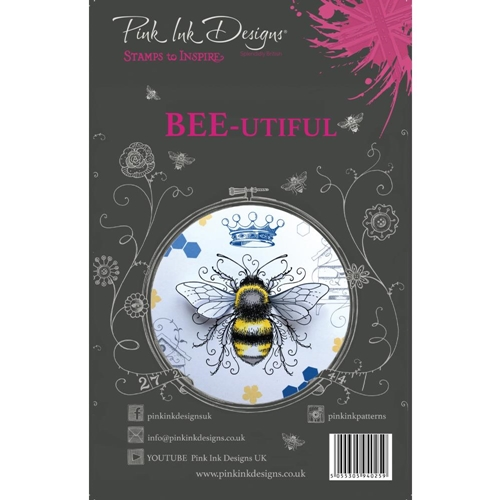 Pink Ink Designs BEE-UTIFUL A5 Clear Stamps pi001 Preview Image