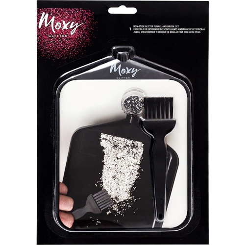 American Crafts Moxy FUNNEL AND BRUSH SET 346691 Preview Image