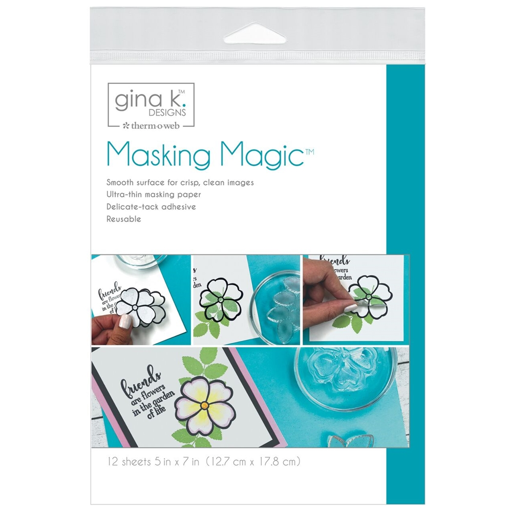 Therm O Web Gina K Designs MASKING MAGIC Mask Paper 18123 zoom image