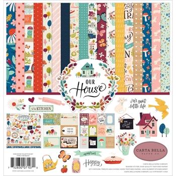Carta Bella OUR HOUSE 12 x 12 Collection Kit cboh94016