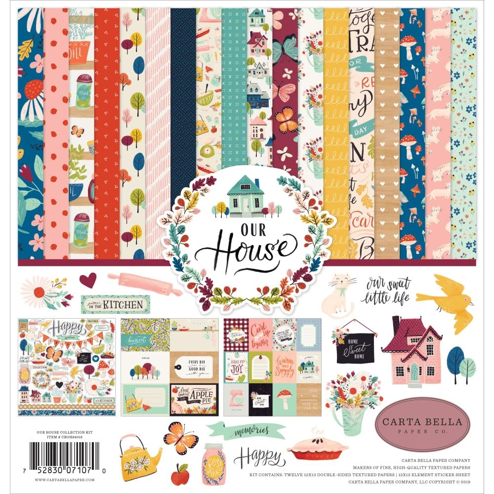Carta Bella OUR HOUSE 12 x 12 Collection Kit cboh94016 zoom image