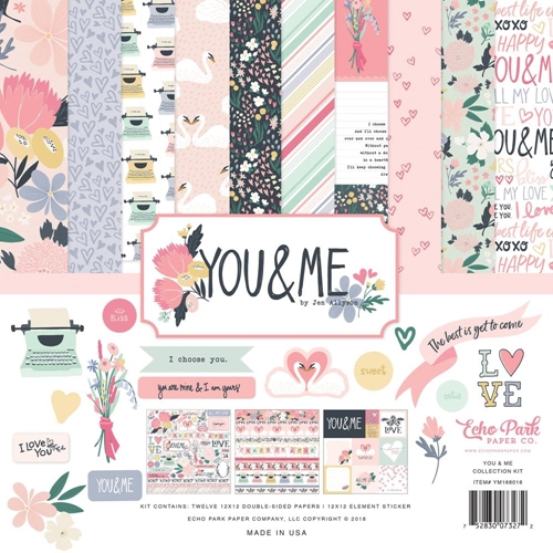 Echo Park YOU AND ME 12 x 12 Collection Kit ym168016* Preview Image