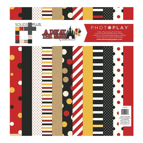 PhotoPlay A DAY AT THE PARK 12 x 12 Solids Collection Pack ColorPlay adp9188 Preview Image