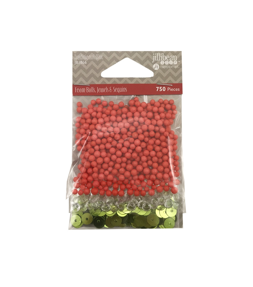 Jillibean Soup TRADITIONAL HOLIDAY MIX Shaker Fillers jb1866 zoom image