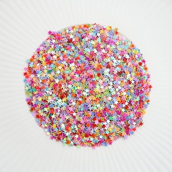 Little Things From Lucy's Cards Itty Bitty Stars RAINBOW DELIGHT Sparkly Shaker Mix LB191