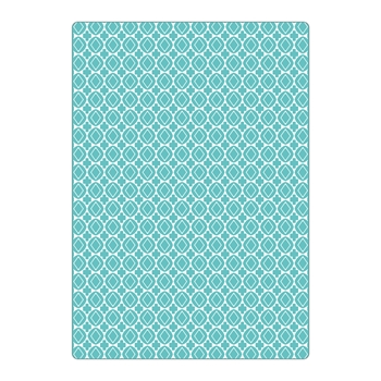 Sizzix Textured Impressions Plus CRUZES Y GEOMETRICOS (CROSSES AND GEOMETRICS) Embossing Folder 663227*