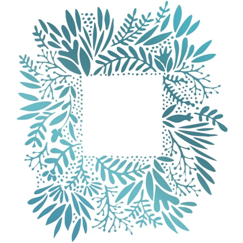 Couture Creations WILD FRAME Hotfoil Stamp Le Petit Jardin co725432 Preview Image