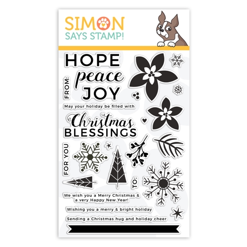 Simon Says Clear Stamps PEACEFUL CHRISTMAS sss101954 Preview Image