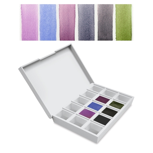 Daniel Smith COLORS OF INSPIRATION Hand Poured Watercolor Half Pan Set 285650003 Preview Image