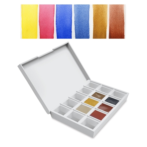 Daniel Smith EARTH Hand Poured Watercolor Half Pan Set 285650002 Preview Image
