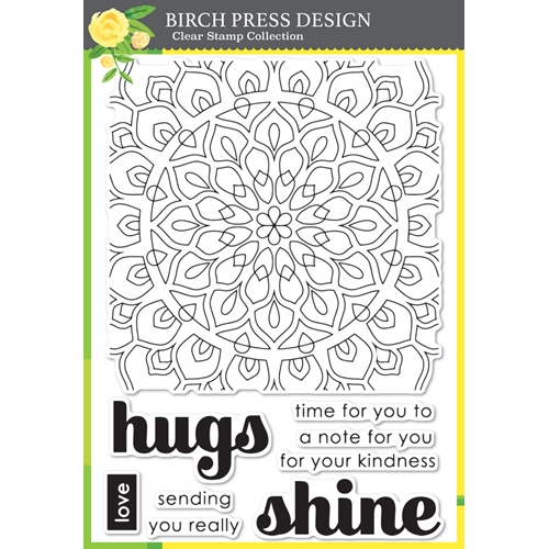 Birch Press Design SHINING MANDALA Clear Stamps cl8140 Preview Image