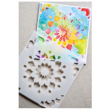 Birch Press Design SHINING MANDALA Stencils 44026*