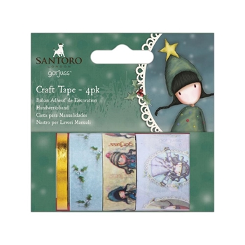 DoCrafts CHRISTMAS Craft Tape Gorjuss go462900*