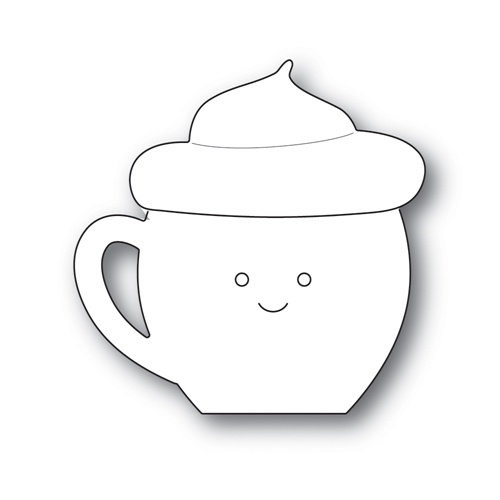 Simon Says Stamp BIG PICTURE BOOK LATTE Wafer Die s605 Diecember Preview Image