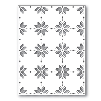 Simon Says Stamp HOLIDAY KNIT BACKGROUND Wafer Die s616