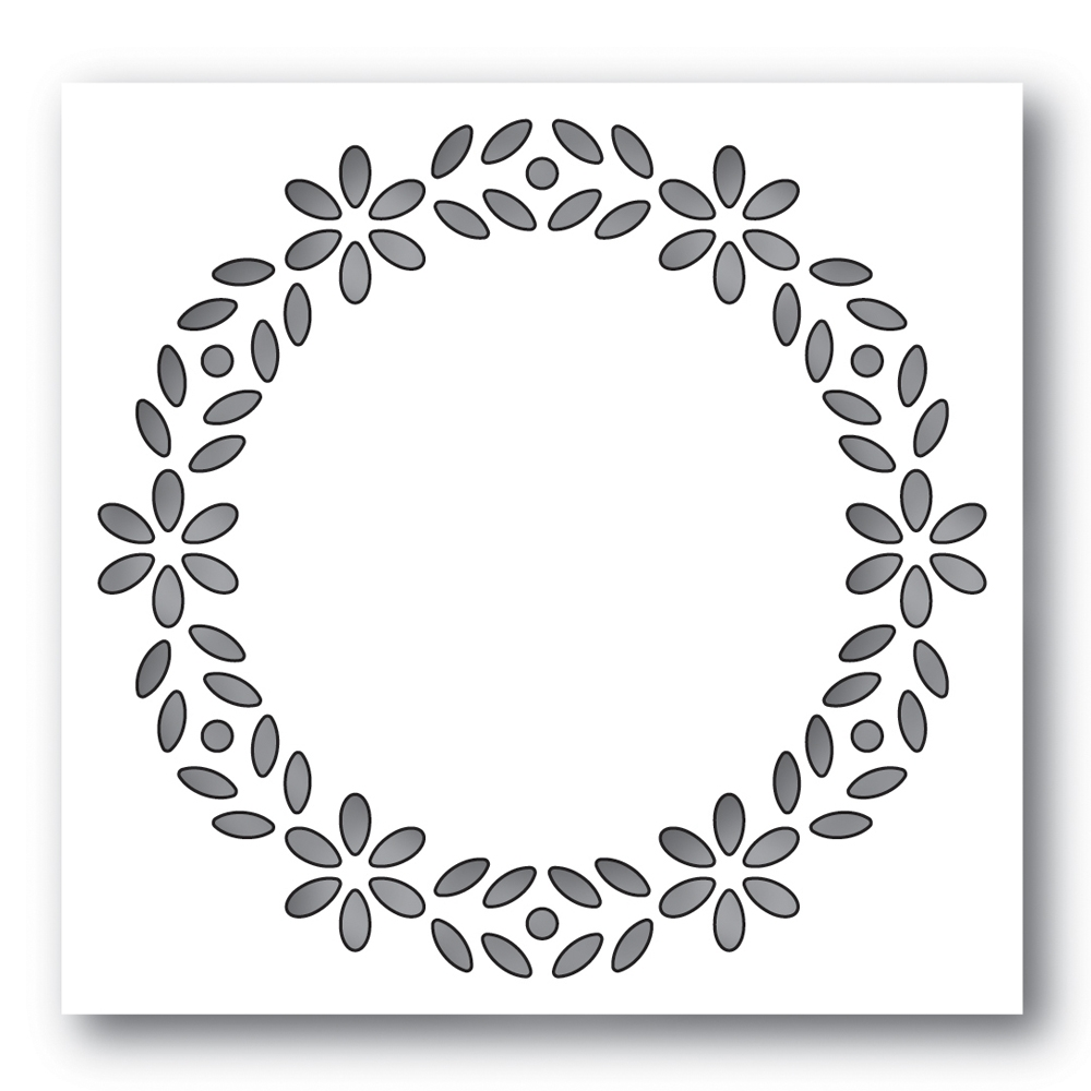 Simon Says Stamp BIXBY WREATH Wafer Die s626 zoom image