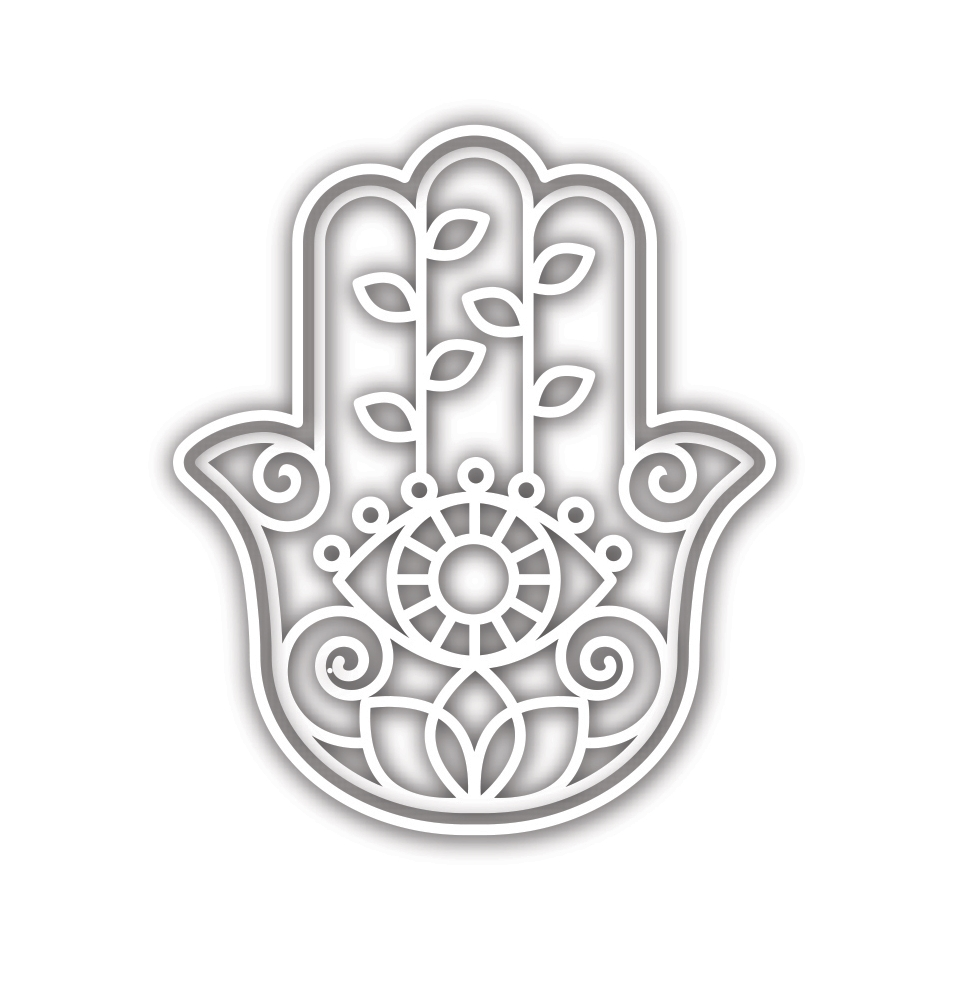 Simon Says Stamp DECORATIVE HAMSA Wafer Die sssd111919 zoom image