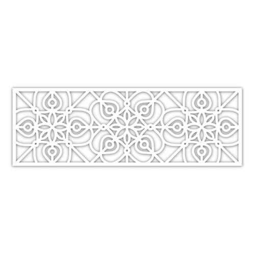 Simon Says Stamp WROUGHT IRON WIDE BORDER Wafer Die sssd111936 Diecember Preview Image