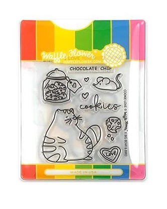 Waffle Flower COOKIE LOVE Clear Stamp and Die Set WFC214* Preview Image