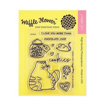 Waffle Flower COOKIE LOVE Clear Stamps 271214