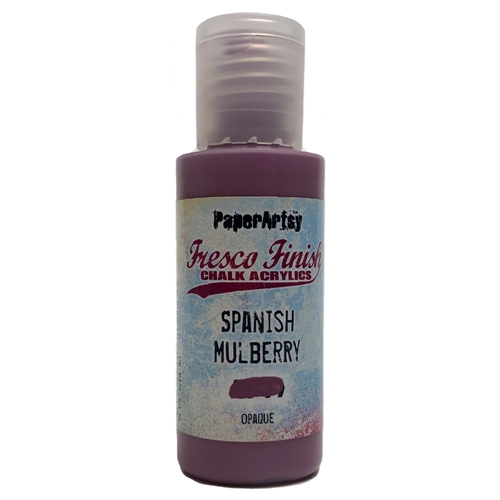 Paper Artsy Fresco Finish SPANISH MULBERRY Chalk Acrylic Paint 1.69oz ff71 Preview Image