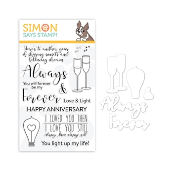 Simon Says Stamps And Dies ALWAYS AND FOREVER Set1218AF You Are Loved *