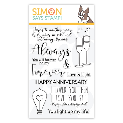 Simon Says Clear Stamps ALWAYS AND FOREVER sss101943 You Are Loved Preview Image