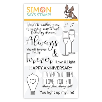 Simon Says Clear Stamps ALWAYS AND FOREVER sss101943 You Are Loved *