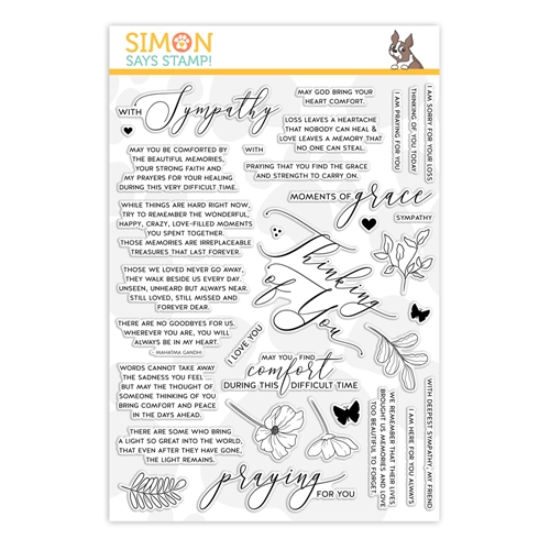 Simon Says Clear Stamps MOMENTS OF GRACE sss201951 You Are Loved Preview Image