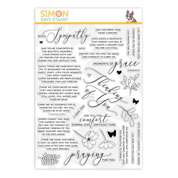 Simon Says Clear Stamps MOMENTS OF GRACE sss201951 You Are Loved