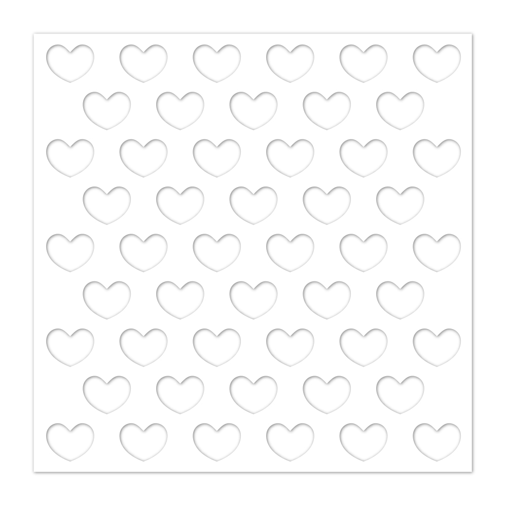 Simon Says Stamp Stencil REVERSE HEARTS ssst121428 You Are Loved zoom image