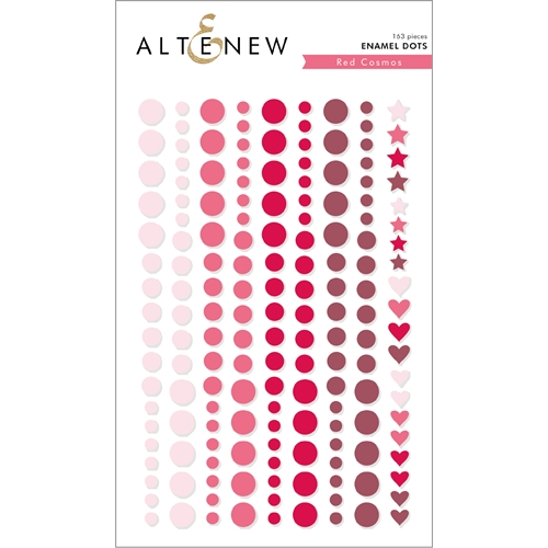 Altenew RED COSMOS Enamel Dots ALT2591 Preview Image