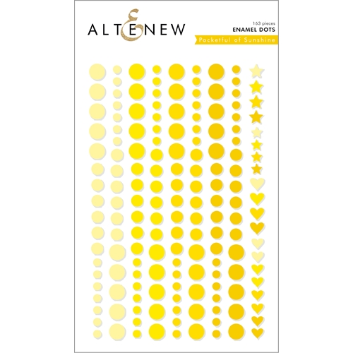 Altenew POCKET OF SUNSHINE Enamel Dots ALT2590 Preview Image