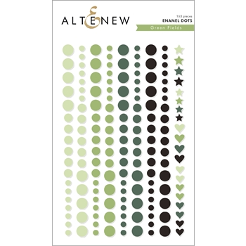 Altenew GREEN FIELDS Enamel Dots ALT2589